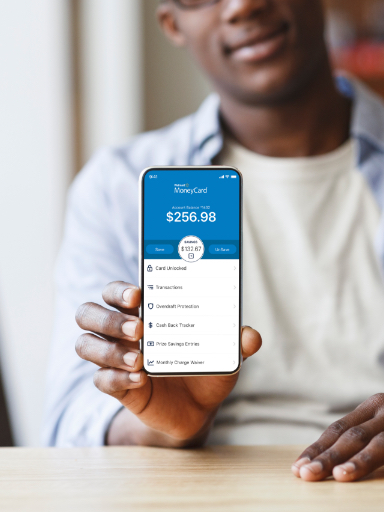 MoneyCard app